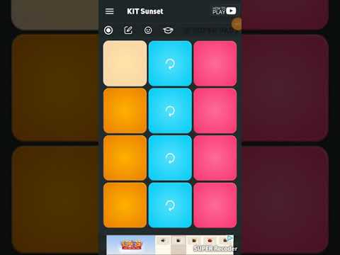 Super Pads,Become A D'J: Making Music With This App The Link Will Be In The  Description