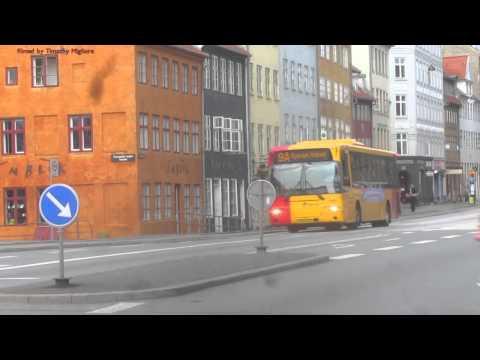 Buses in Copenhagen, Denmark