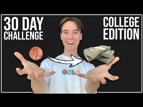 Taking A College Student From Broke to Rich in 30 Days   Dropshipping Challenge thumbnail