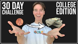 Taking A College Student From Broke to Rich in 30 Days   Dropshipping Challenge