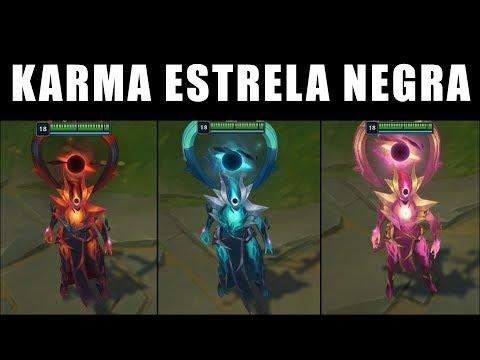 Karma Estrela Negra - Croma Skin