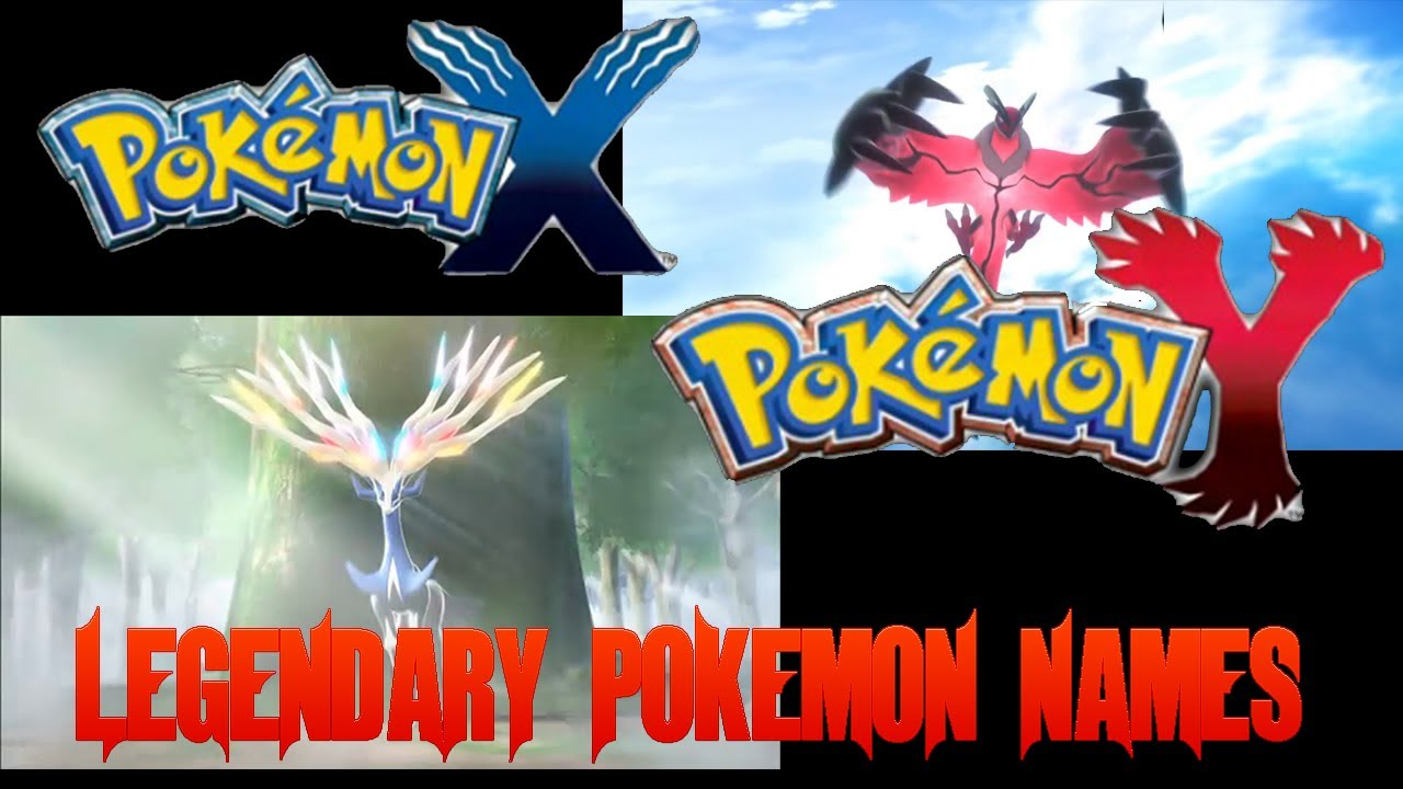 Pokémon X and Y - Legendary Pokemon English Names Revealed ...