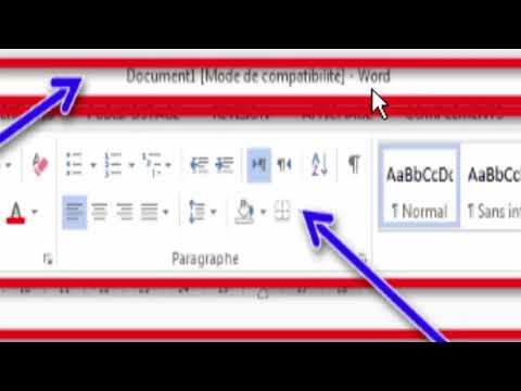 Introuction Word 2013 معالج النصوص وورد 2013 Youtube