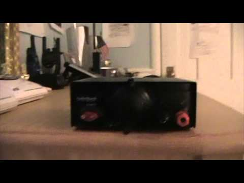 Unboxing of a Radioshack 13 8VDC or 3 Amp Power Supply