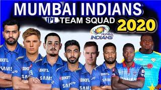 IPL 2020 Mumbai Indians Team Squad | Mumbai Indians Probable Squad in IPL 2020 | MI Players List
