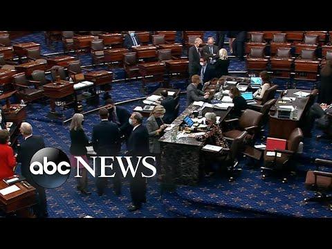 Senate prepares to vote on $1.9 trillion COVID relief bill