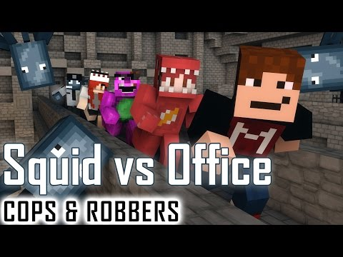 THE SQUID RETURNS! | Minecraft Cops N Robbers