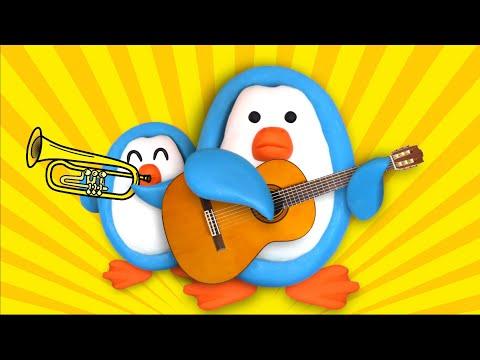 Музыкальные инструменты и их звуки. Развивающий мультик