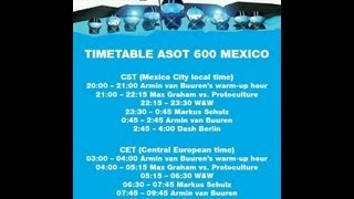 10 ASOT 600 MEXICO CITY-DASH BERLIN 10/10