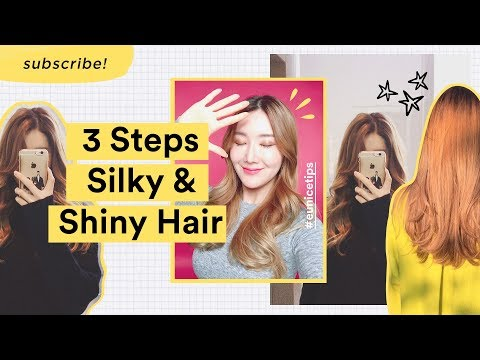 3 Simple Steps To Get Silky Shiny Hair At Home | Tips To Prevent Hair Loss