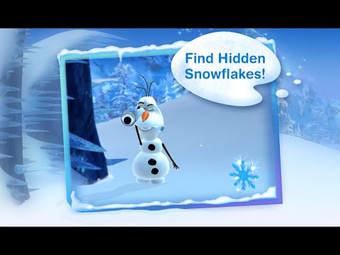 Disney Frozen Olaf's Adventures Game Android İOS Video Gameplay