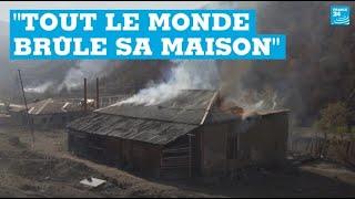 Haut-Karabakh : des villageois arméniens incendient leur maison avant l'arrivée des Azerbaïdjanais
