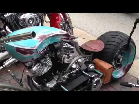 Single Side Front Swing Arm Bike Youtube