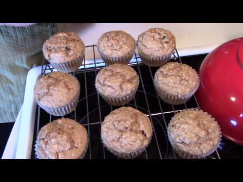 Vegan Orange Pecan Muffins