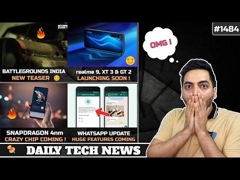 Battlegrounds Mobile New Teaser,realme 9 Launch,Mi 11 Lite India Confirmed,Qualcomm Crazy Processor