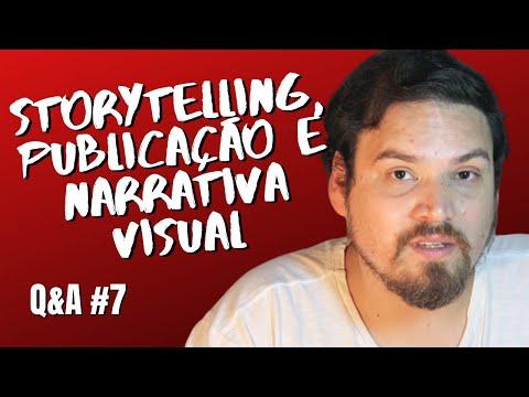 Storytelling, publicação e narrativa visual de quadrinhos - Q&A 07