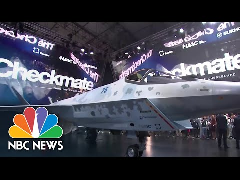 Download Russia Unveils New Fighter Jet Viewed As Competitor To America's F-35