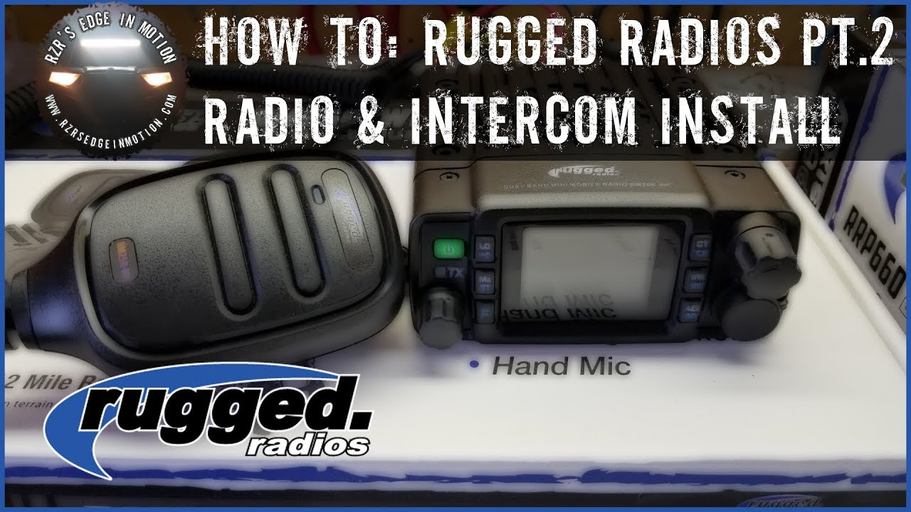RZR How To - Rugged Radios Install Part 2
