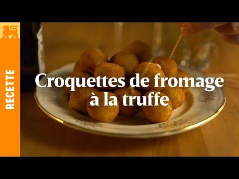 Croquettes de fromage à la truffe