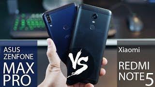 Asus Zenfone Max Pro vs. Redmi Note 5