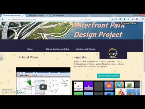 Waterfront Park Design Website Walkthrough