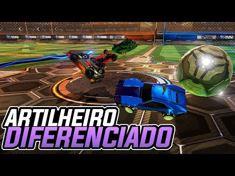 UM ARTILHEIRO DIFERENTE?! SHOW! COM 2 ATACANTES E 1 GOLEIRO - Rocket League