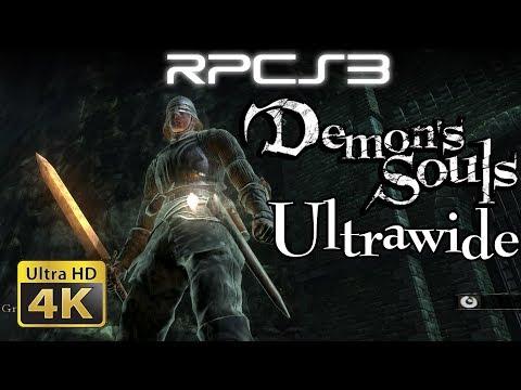 4K Demon's Souls 21:9 Ultrawide | RPCS3 (PS3 Emulator)