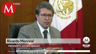 Ricardo Monreal opina sobre la renuncia de Carlos Urzúa