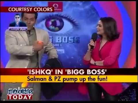 Preity Zinta promotes Ishkq in Paris on Bigg Boss 6