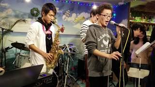 2018.12.23 西明石イマジン クリスマスライブ2部 「高砂高校校歌」 飛...