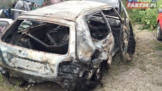 Koszmarna śmierć Anity. Koledzy podpali auto i uciekli