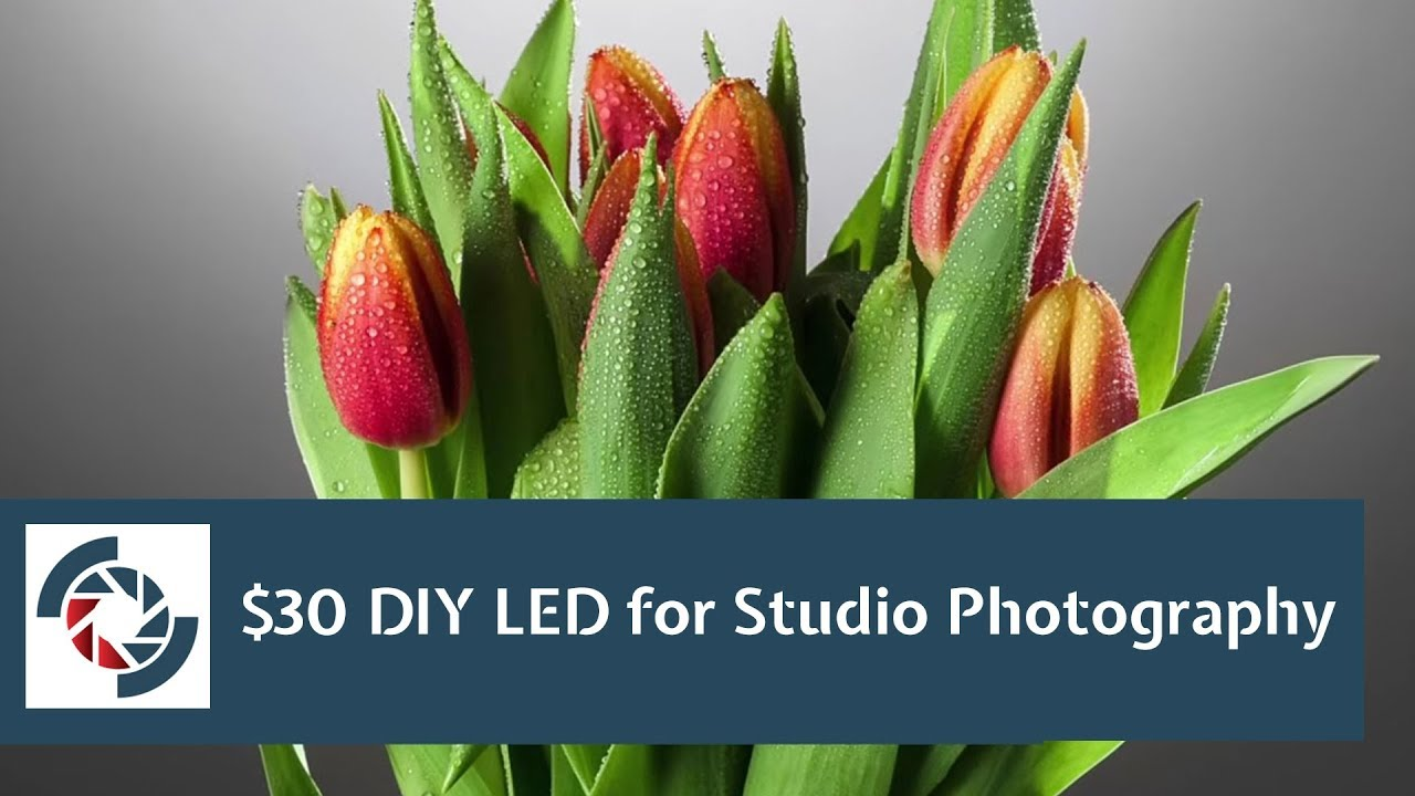 DIY LED Lighting for Studio Photography What you can do with $30 LED bulbs - YouTube & DIY LED Lighting for Studio Photography: What you can do with $30 ... azcodes.com