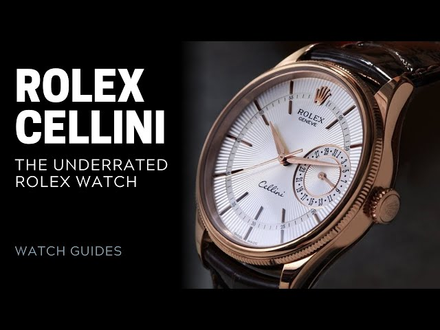 Rolex Cellini: The Underrated Rolex Watch | SwissWatchExpo [Rolex Watches]