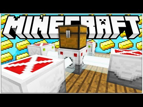 WE GOT SO MUCH MONEY!? - *BRAND NEW UPDATE* GOLD RUSH MINIGAME - Modded Minecraft Minigame