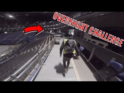 SNEAKING INSIDE THE O2 ARENA AFTER HOURS *MADNESS*