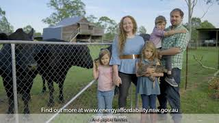 NSW Government energy affordability TV commercial