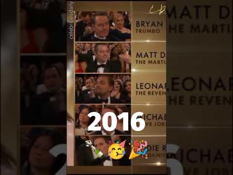 Leonardo DiCaprio Vs Oscar Nominations #shorts #youtube #celebritiesdaily