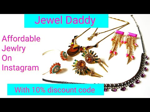 Jewelry shopping on Instagram | Jewel Daddy | With Discount Code