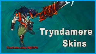 All Tryndamere Skins (League of Legends)