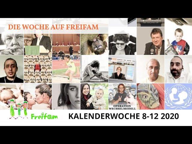 Die Woche auf Freifam (KW 8-12 2020)