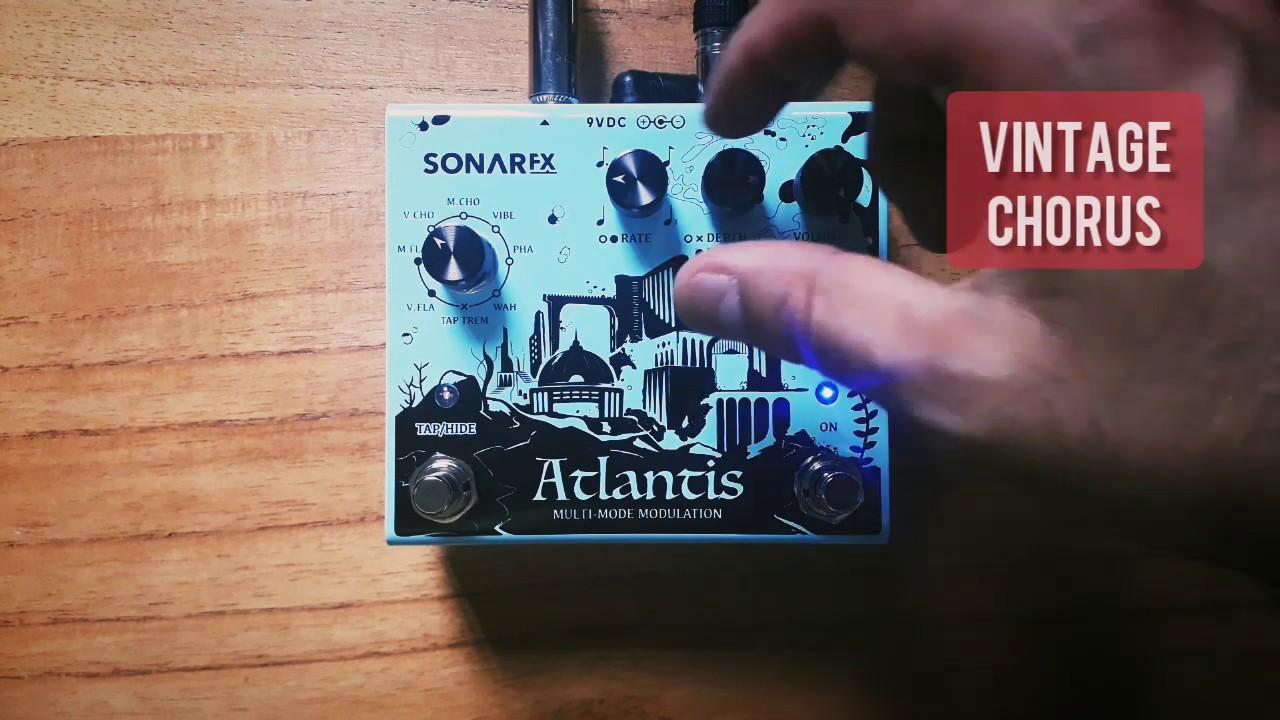 SonAr fx - Atlantis Multimode Modulation - Vintage Chorus + Distortion