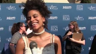 Zazie Beetz Interview at Variety's 10 Actors to Watch event