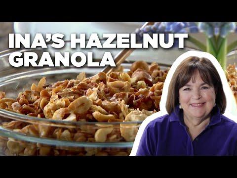 Barefoot Contessa's Roasted Hazelnut Granola | Food Network