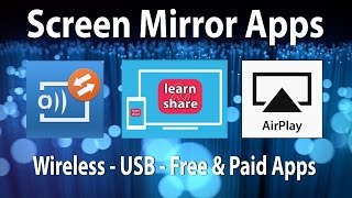 Скачать How To Screen Mirroring Android Apps Cast Screen AirPlay Mac OS X Windows