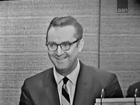 What's My Line? - Steve Allen; Buddy Hackett [panel] (Oct 4, 1964)