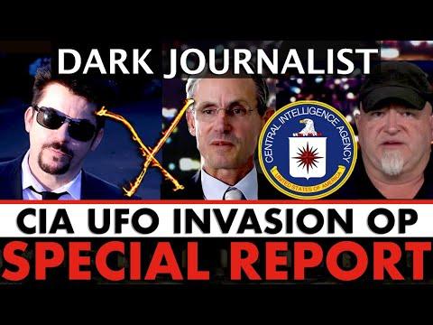 Dark Journalist Special Report: CIA UFO Invasion Op!