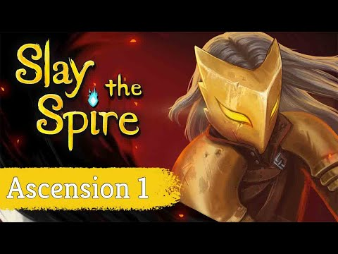 Into Ascension mode!!!! - Ascension 1 // Slay the Spire