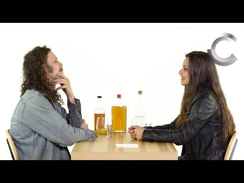 Blind Dates Play Truth or Drink (Patrick & Shelby) | Truth or Drink | Cut