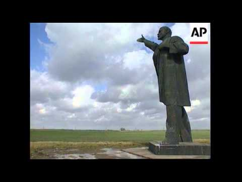 Holland/Lithuania - Giant statue of Lenin