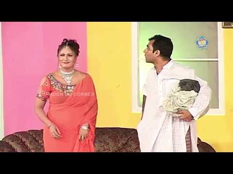Qaiser Piya And Tahir Noushad -  New Pakistani Stage Drama - Full Comedy Clip